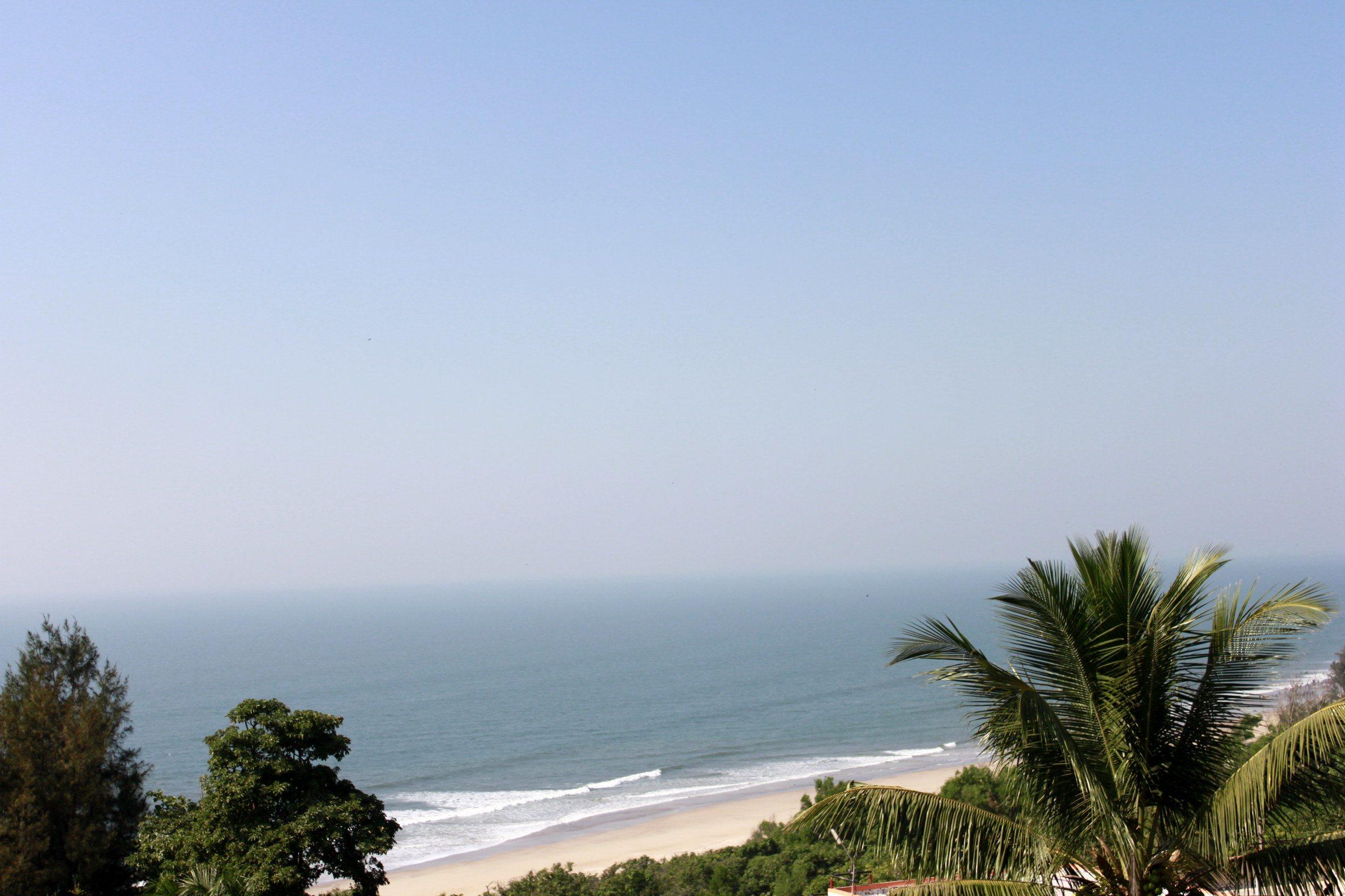 View from Abhishek Beach Resort