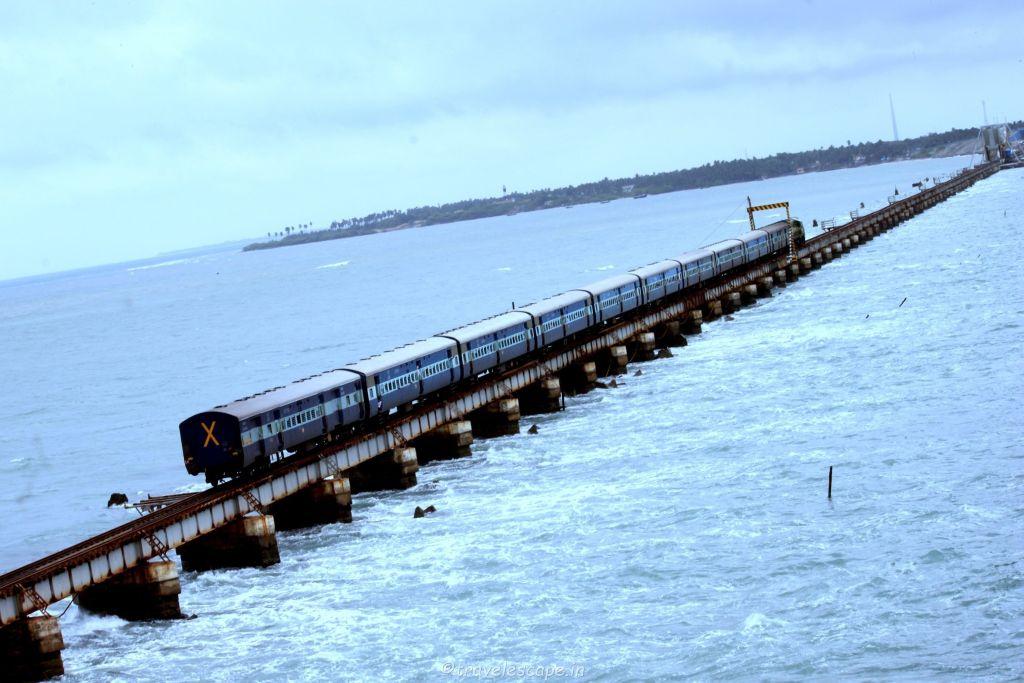 pamban bridge @ rameshwaram