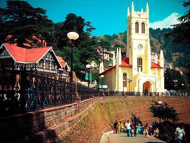 shimla church
