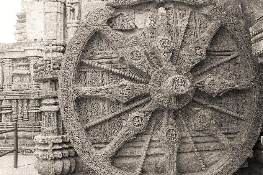 Konark Temple Sun Dial