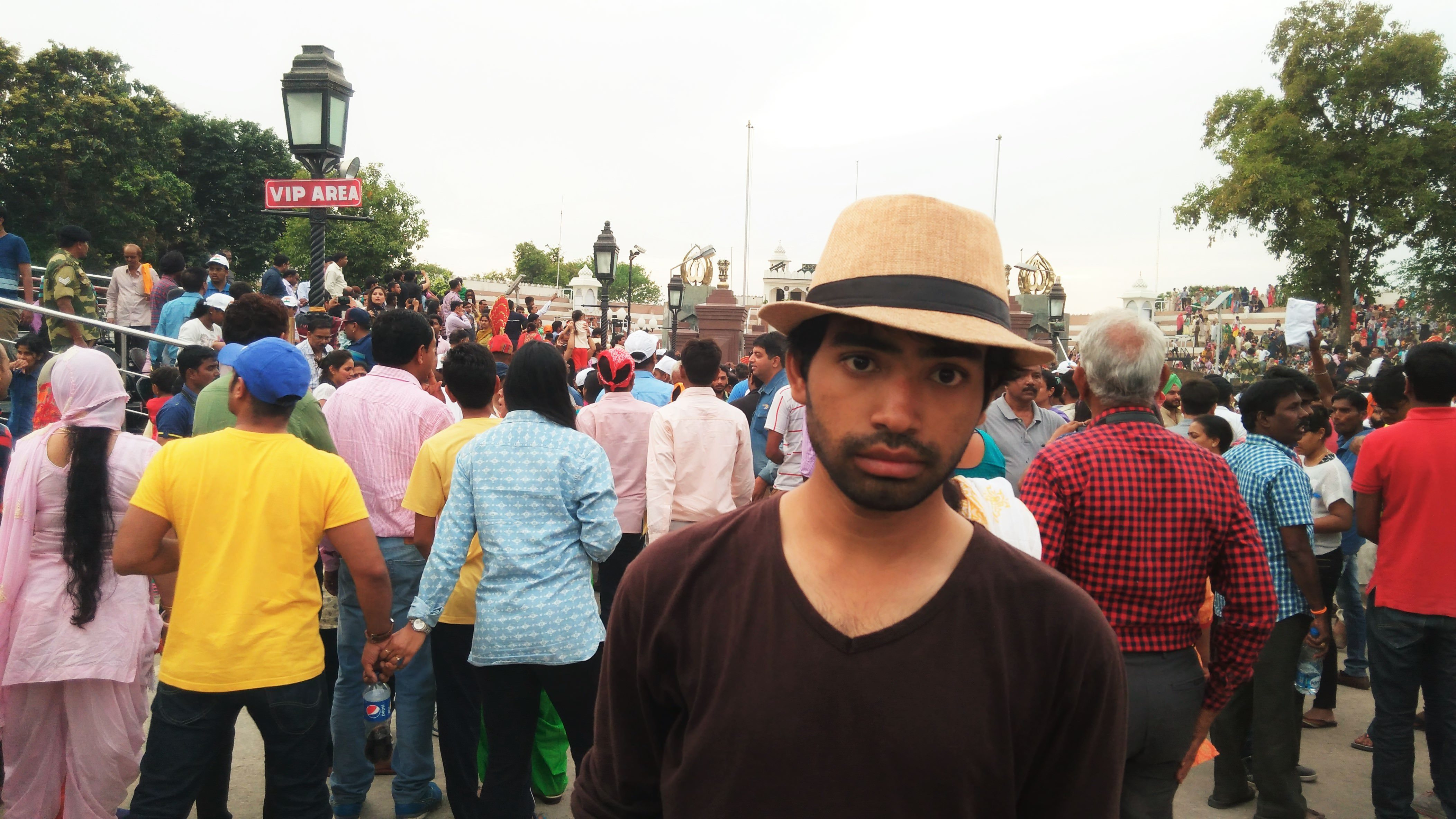 Me at Wagha Border