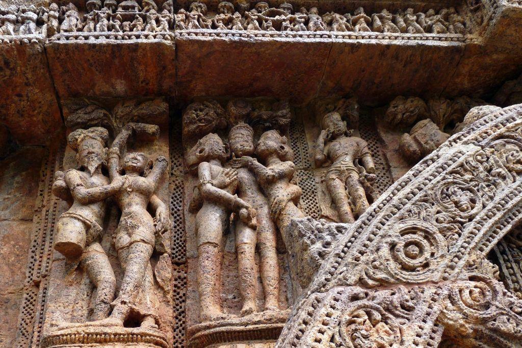 Sun Temple Sculptures