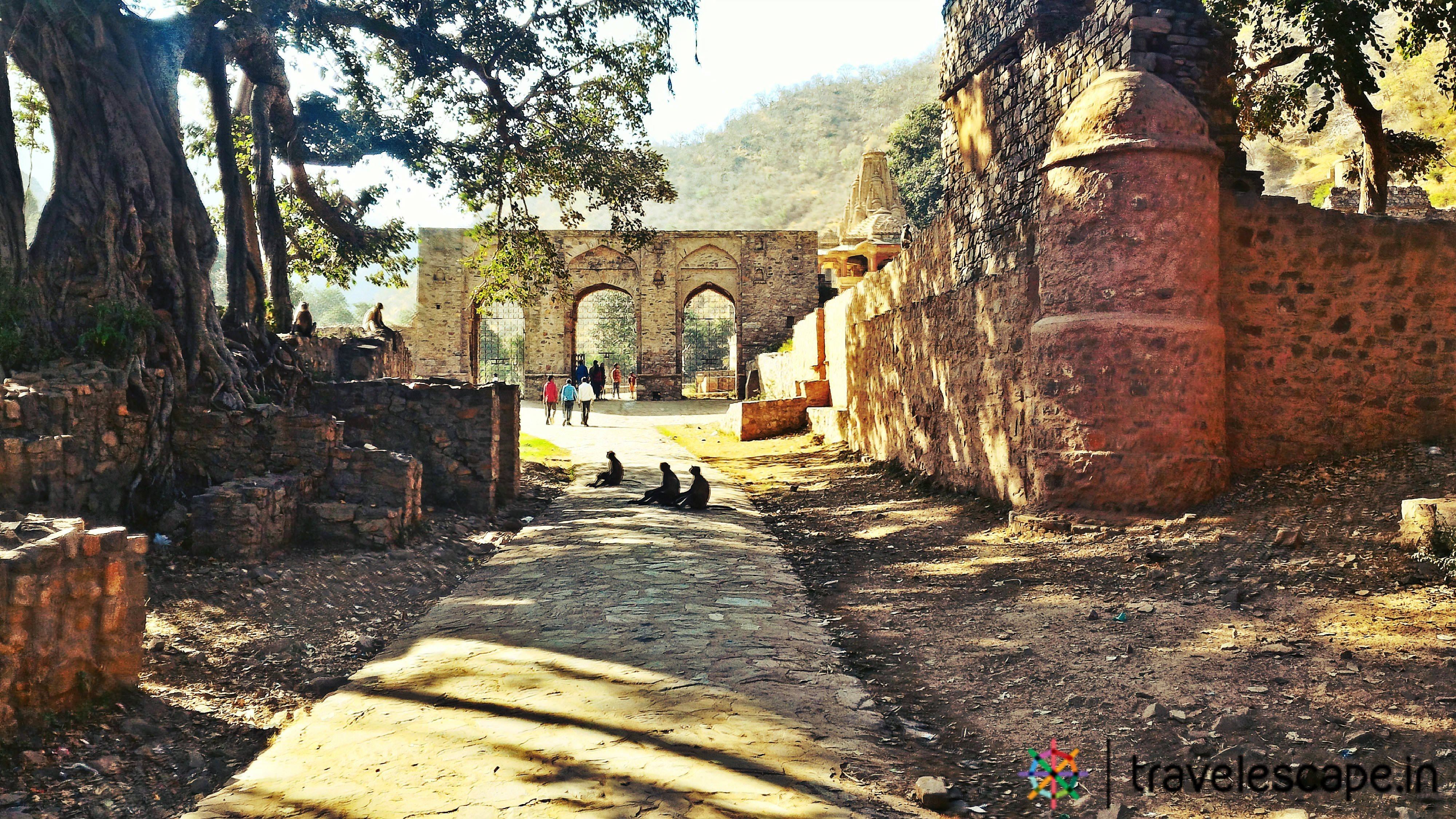 Bhangarh Fort Entrnace