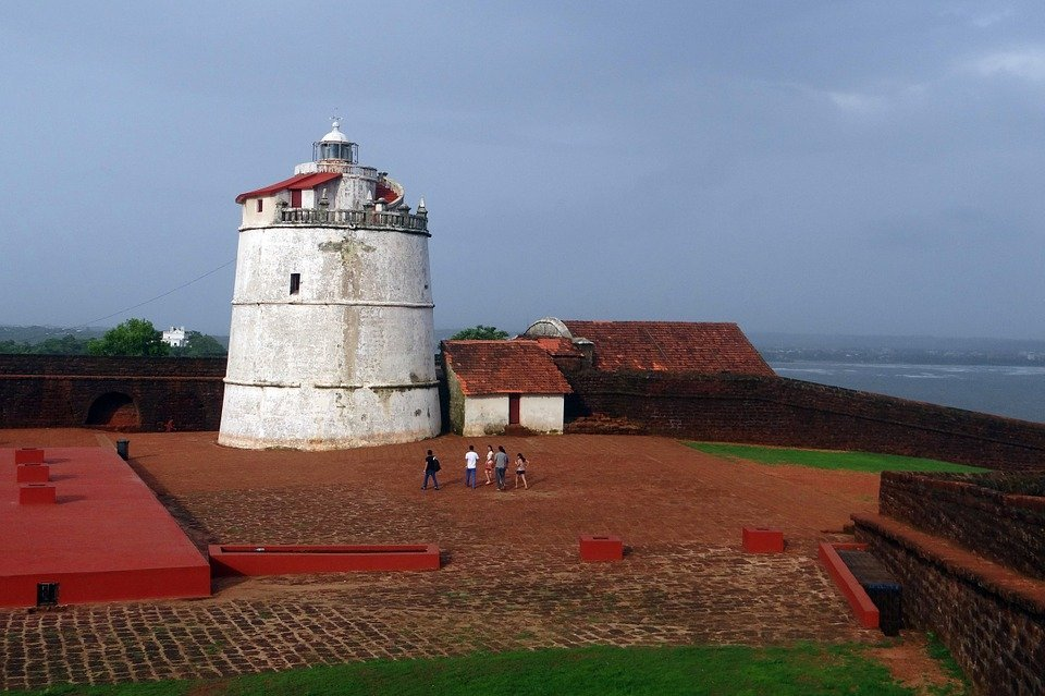 aguanda fort, goa