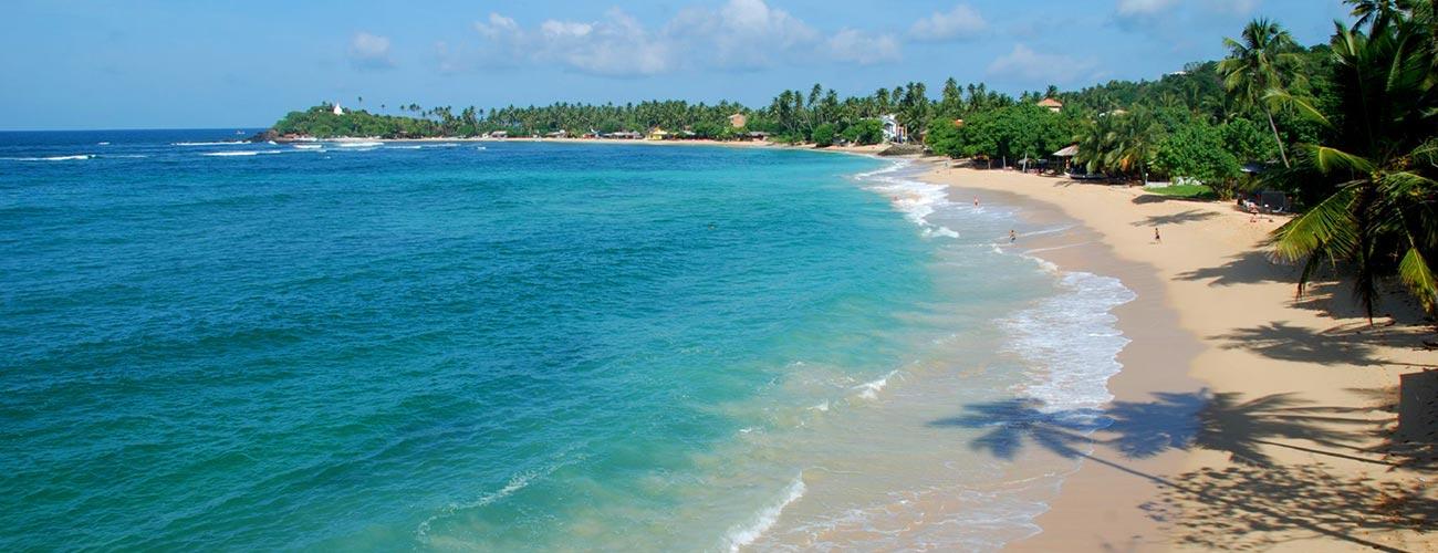 Unawatuna beach