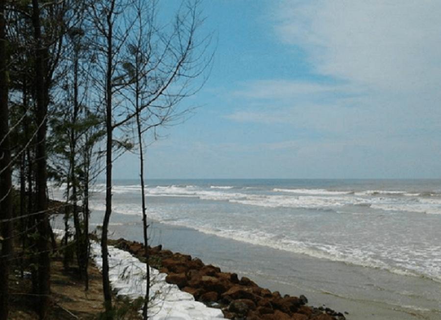 mandarmani, sea, india, west bengal, high tide