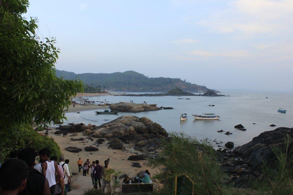 Goakrna Beach View