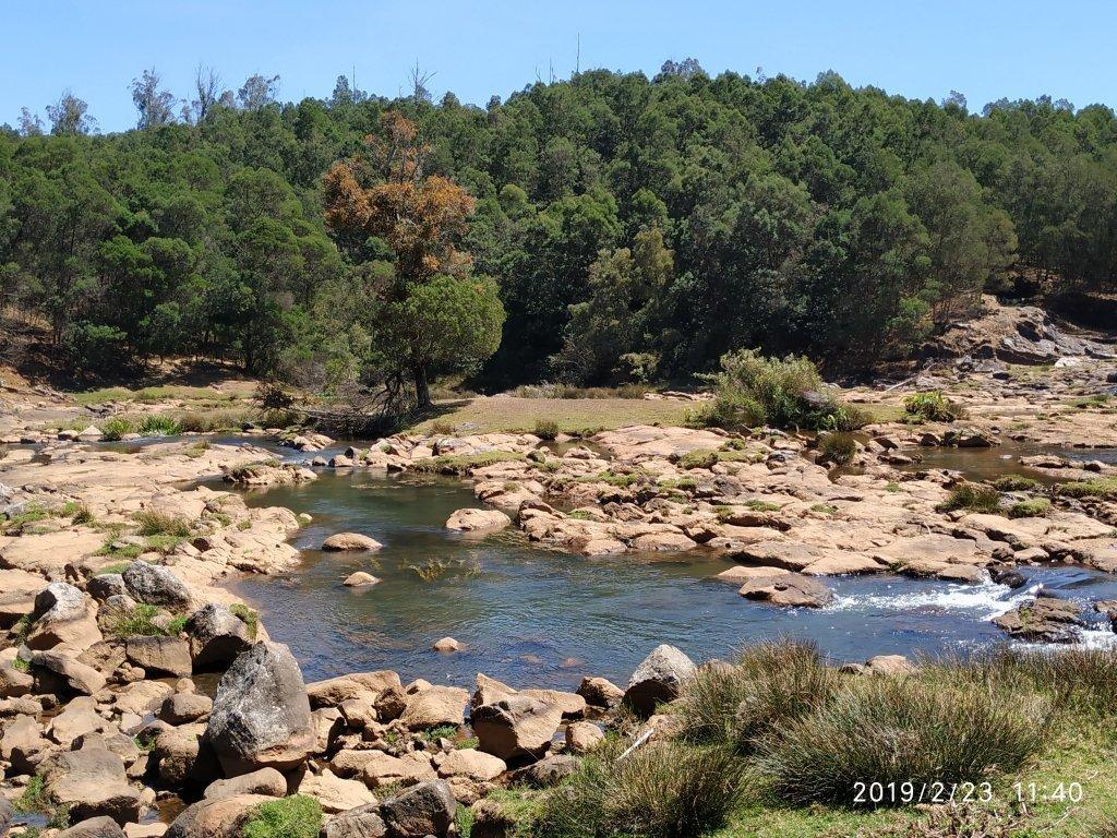 Pykara waterfalls, river