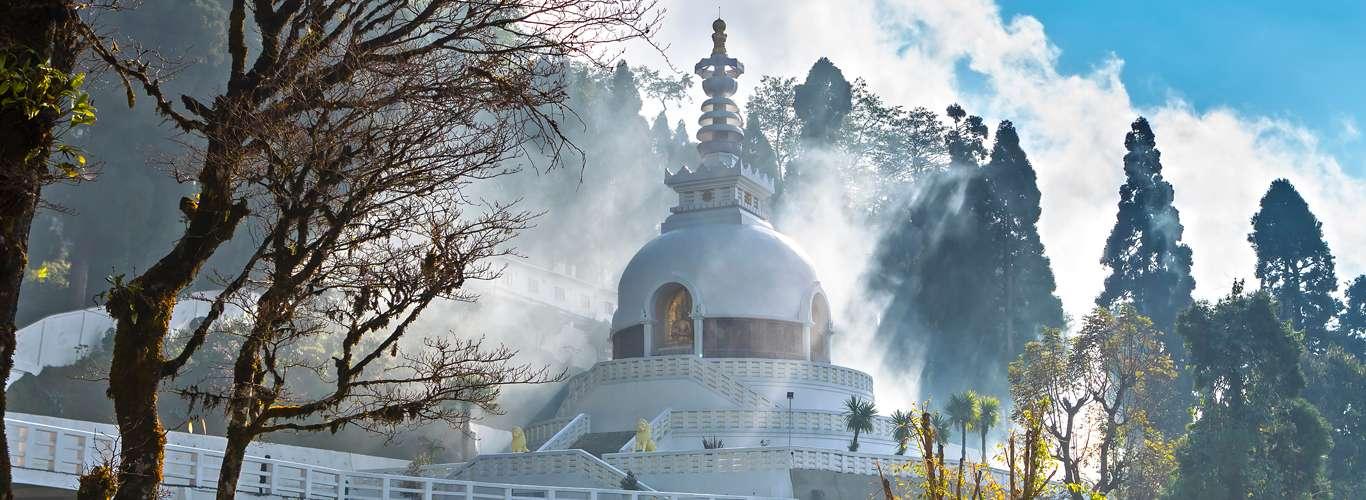 Peace Pagoda, Darjeeling