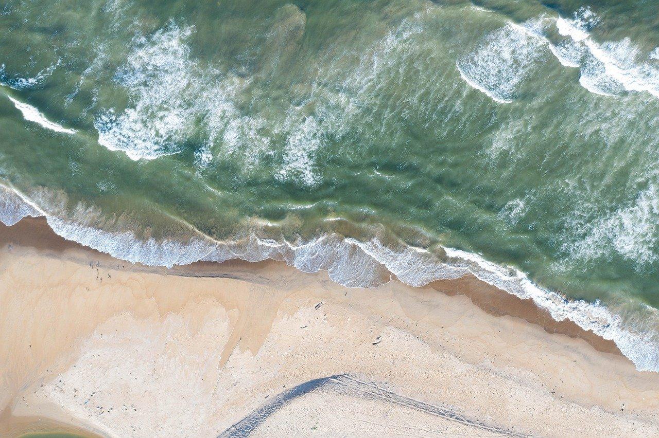 Goa drone view