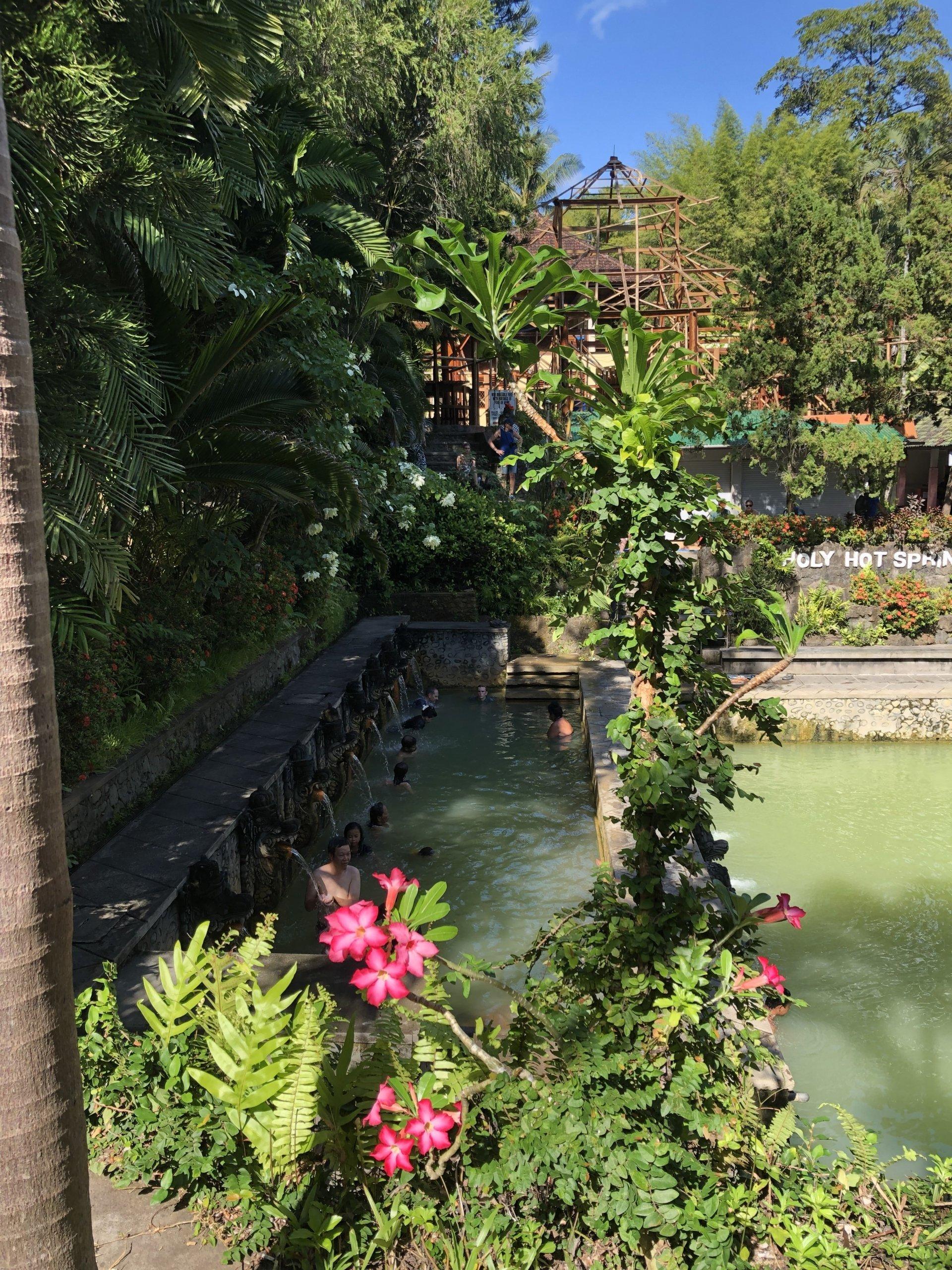 Air Panas Banjar Hot Spring- Bali travel guide