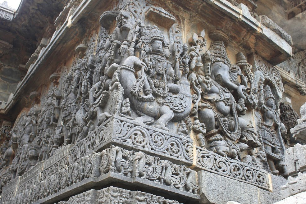 Halebidu Carving