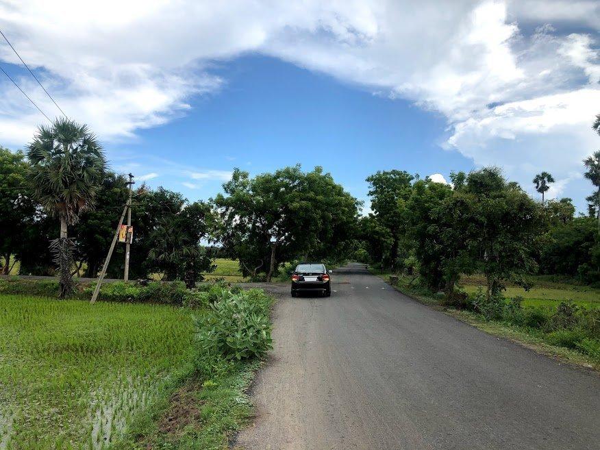 Bangalore to Pondicherry Route