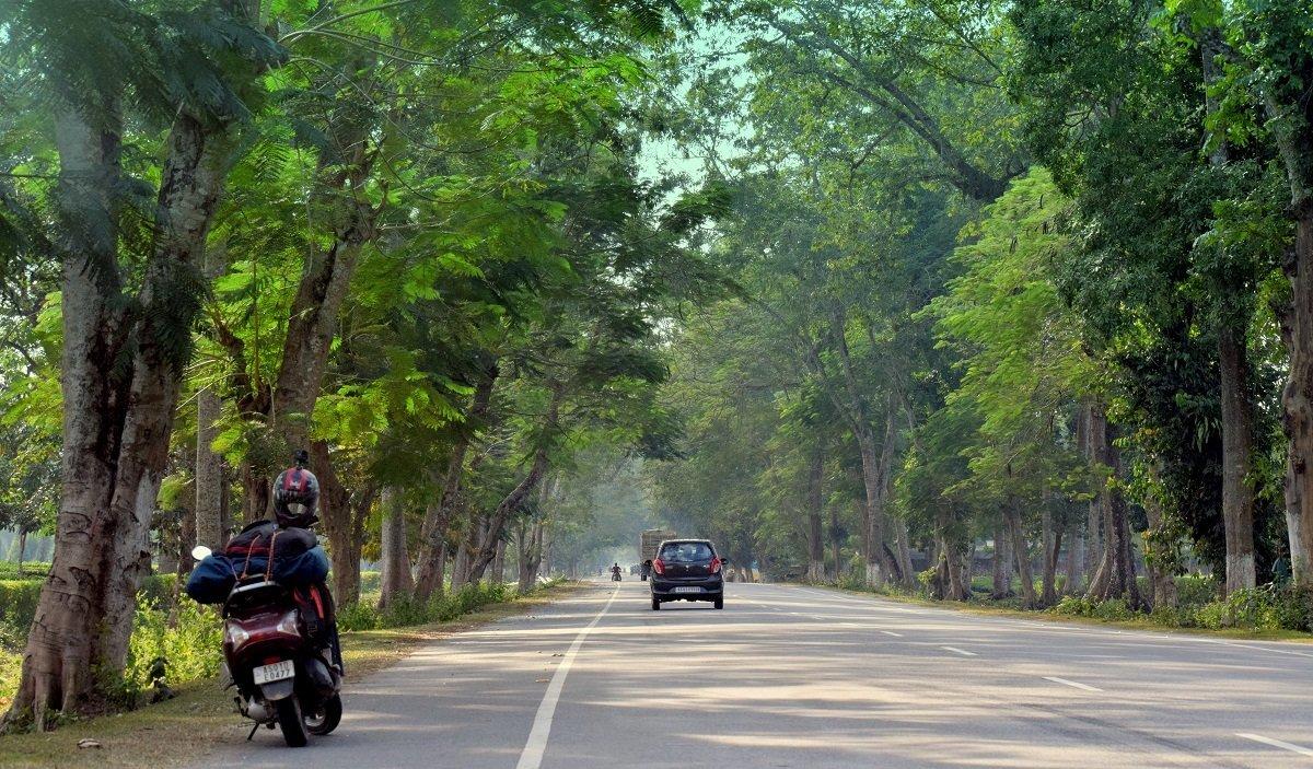 Guwahati Jorhat Highway