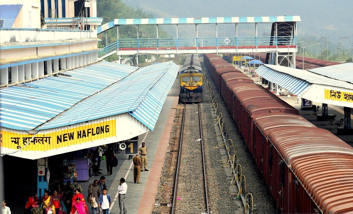 Haflong Railway Station
