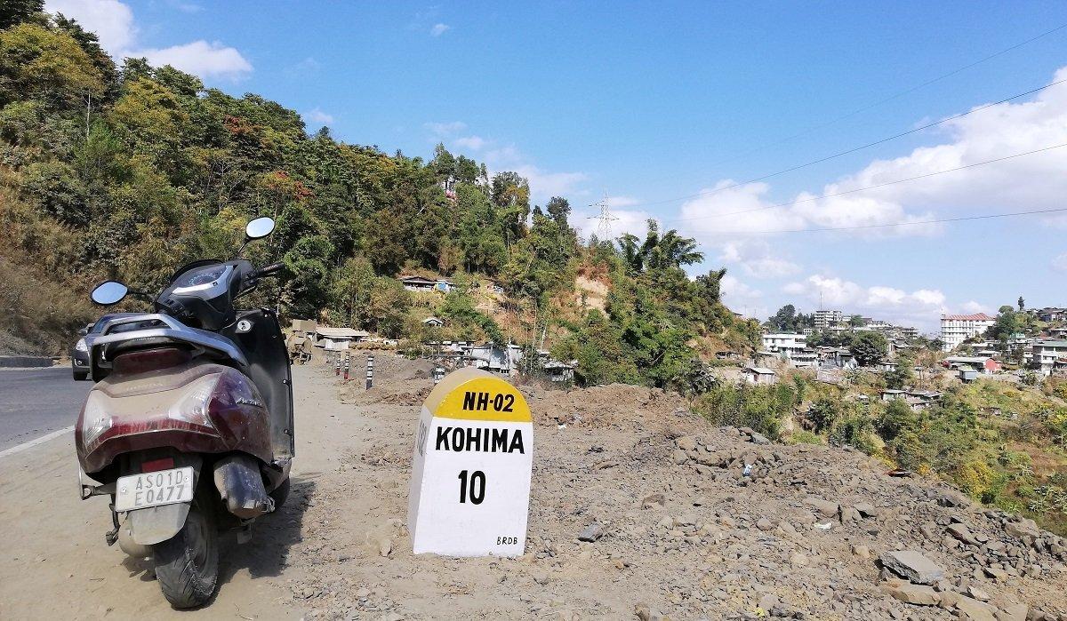 Kohima Imphal Highway